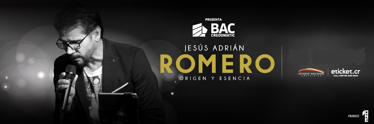 Jesus Adrian Romero Estadio Nacional Mata Redonda Información Del Evento Compra Tus Boletos Costa Rica