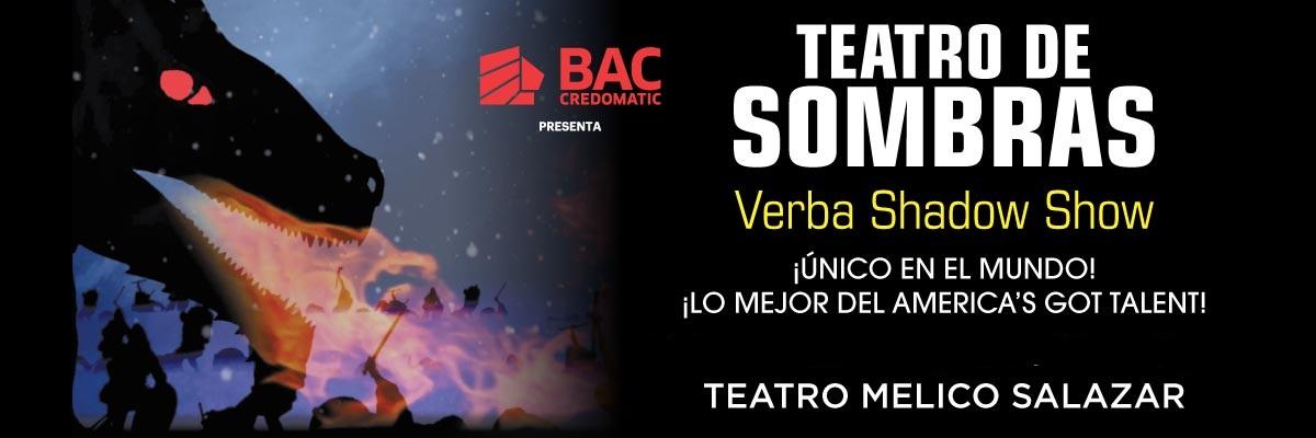 TEATRO DE SOMBRAS 3D VERBA SHADOW SHOW