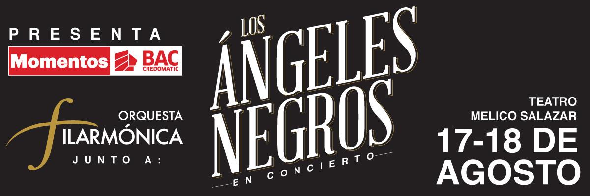 LA ORQUESTA FILARMONICA JUNTO A LOS ANGELES NEGROS