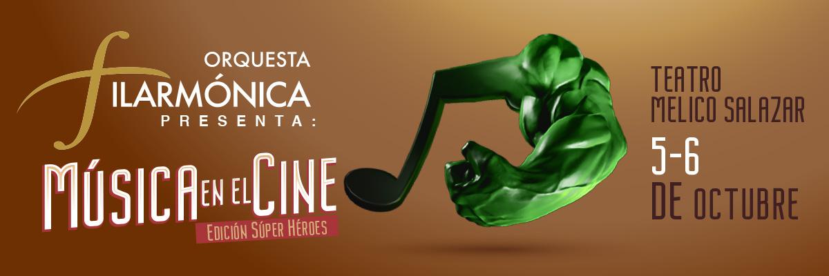 LA ORQUESTA FILARMONICA PRESENTA-  MUSICA DE CINE