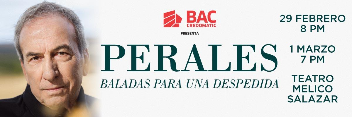 JOSE LUIS PERALES - BALADAS PARA UNA DESPEDIDA