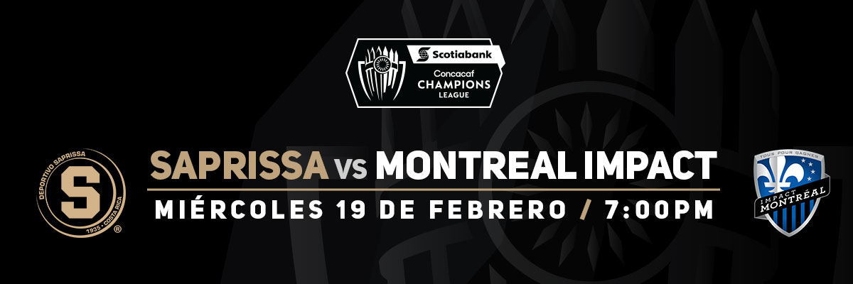 CONCACAF PALCOS SAPRISSA VS MONTREAL IMPACT