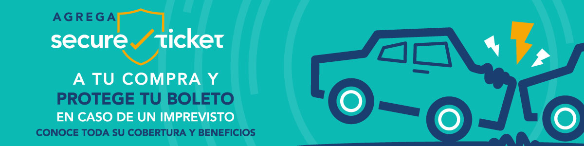 Secure-ticket - accidente